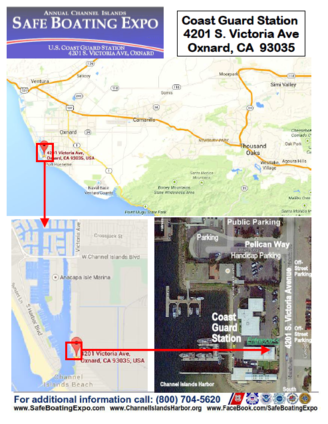 boating Safe Boating Expo Ventura County CA Map